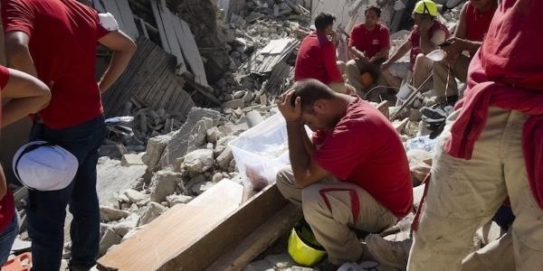 terremoto amatrice funerali