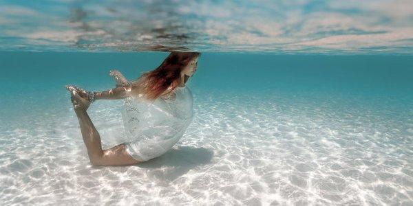yoga subacqueo