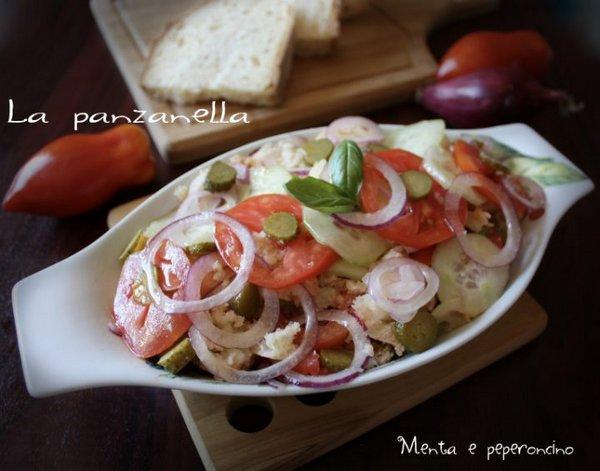 panzanella cetriolini