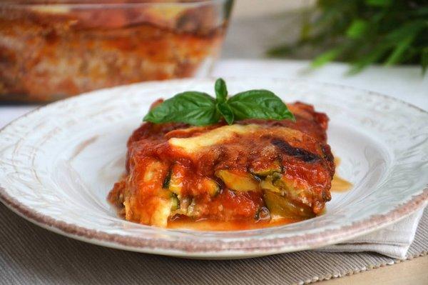 parmigiana di zucchine