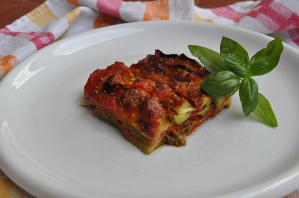 parmigiana di zucchine senza glutine