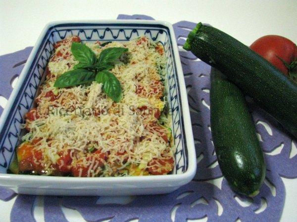 parmigiana di zucchine senza lattosio