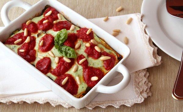 parmigiana di zucchine vegetariana