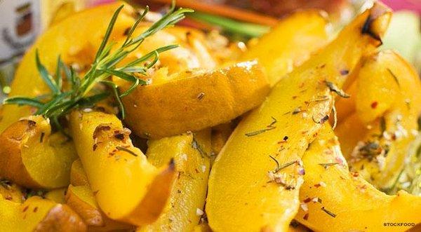 zucca al forno light