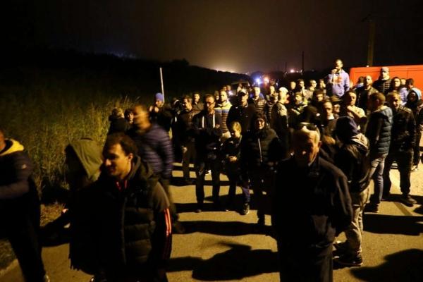 barricate migranti2