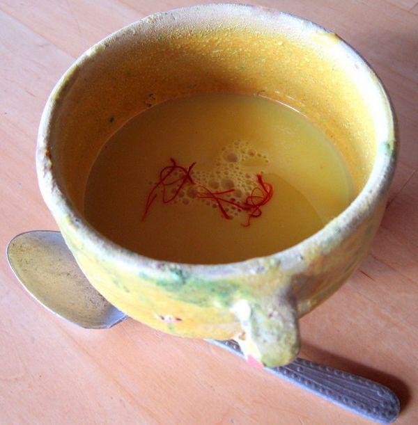 golden milk zafferano