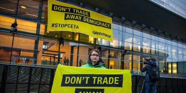 Greenpeace contro il Ceta