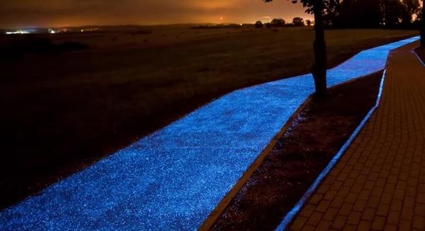 pista ciclabile luminosa 1