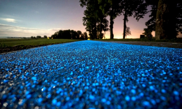 pista ciclabile luminosa 2