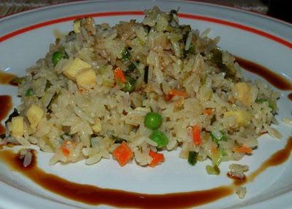 riso alla cantonese senza glutammato