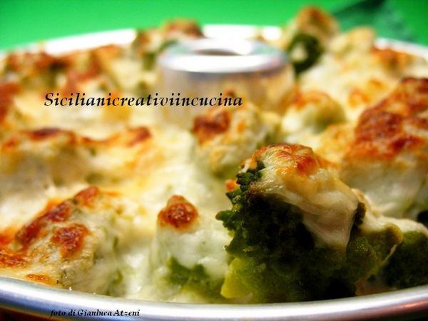broccolo romanesco al forno