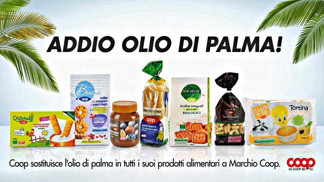 coop olio di palma