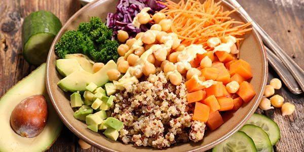 dieta vegetariana cibo