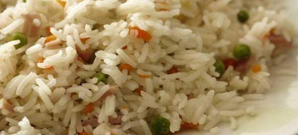 insalata di riso basmati alle verdure
