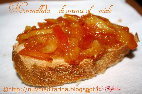 marmellata di arance al miele