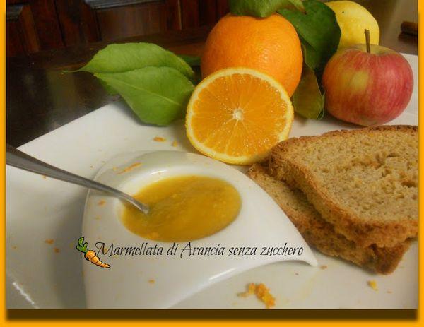 marmellata di arance senza zucchero con le mele