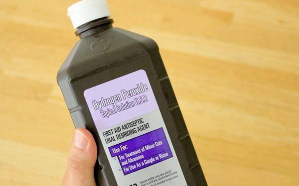 acqua ossigenata delicata