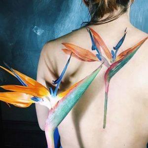 tatuaggio botanico