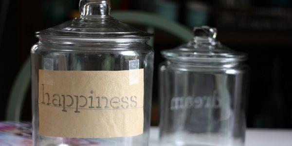 barattolo della felicità