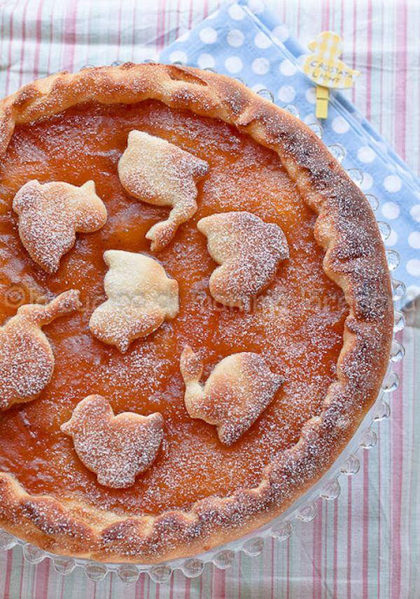crostata di marmellata light