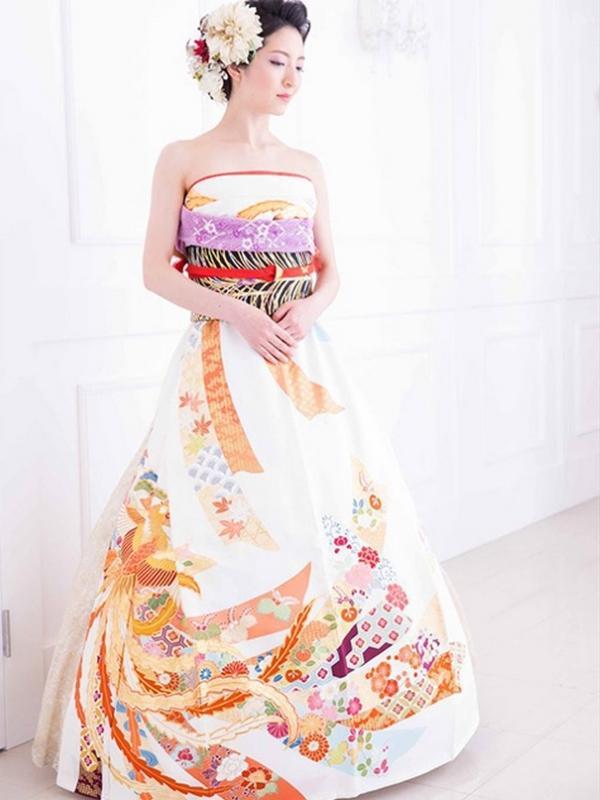 kimono abito da sposa