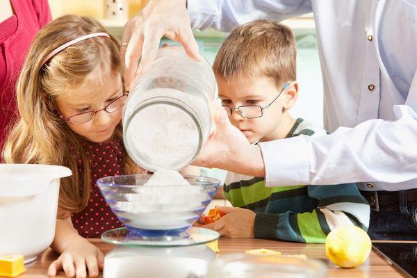 mente matematica cucina