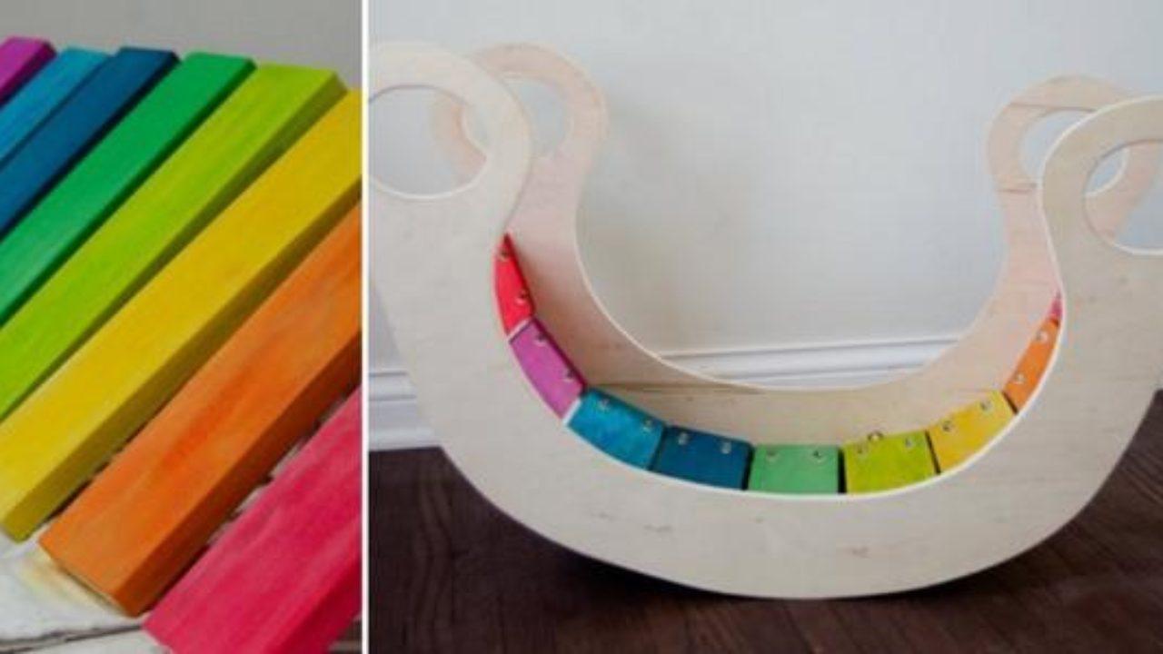 Come Costruire Un Dondolo Di Legno.Rainbow Rocker Come Costruire Un Dondolo In Legno Per