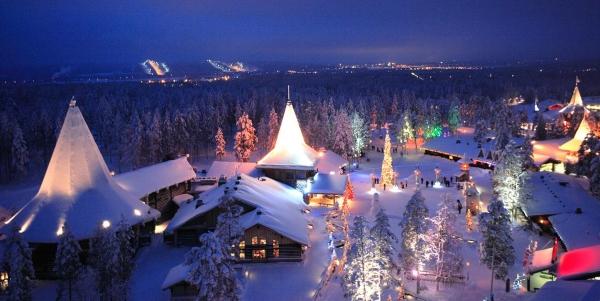 Rovaniemi Il Meraviglioso Villaggio Di Babbo Natale
