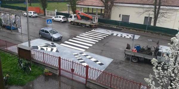 strisce pedonali zebra