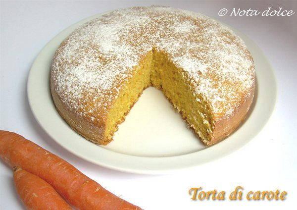 torta di carote senza burro