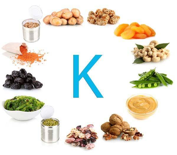 vitamina k alimenti