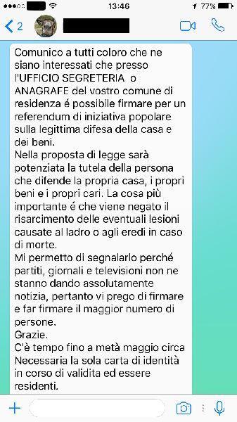 bufala whatsapp