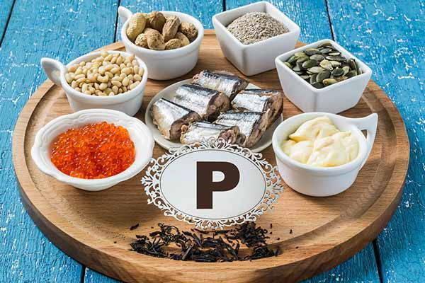 fosforo alimenti