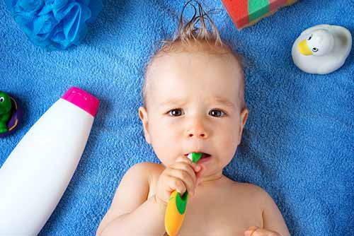 lavare denti