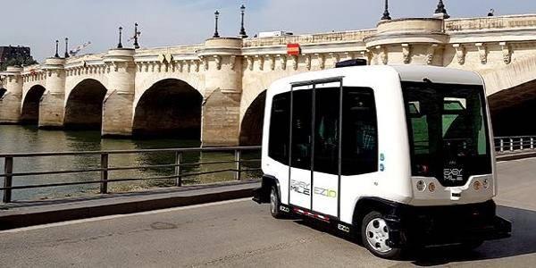 Minibus elettrici Parigi