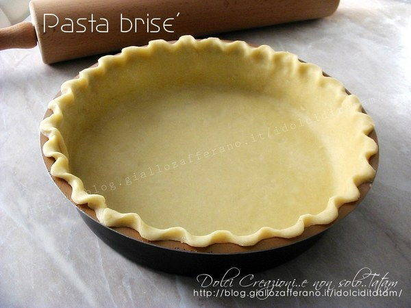 pasta brisee dolce