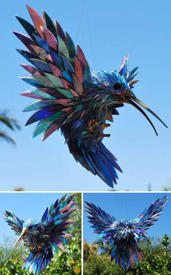 sculture materiali riciclati7