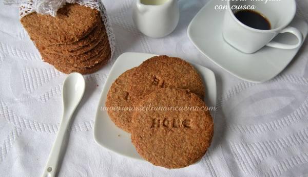 biscotti crusca
