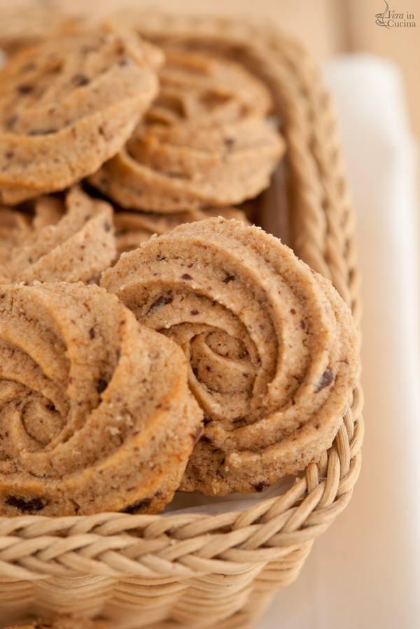 biscotti integrali cioccolato