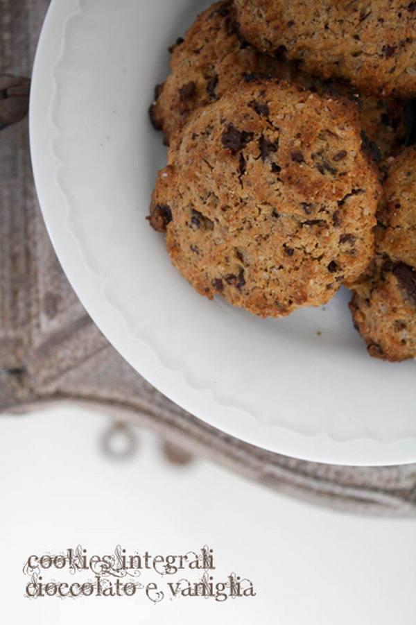 biscotti integrali cookies