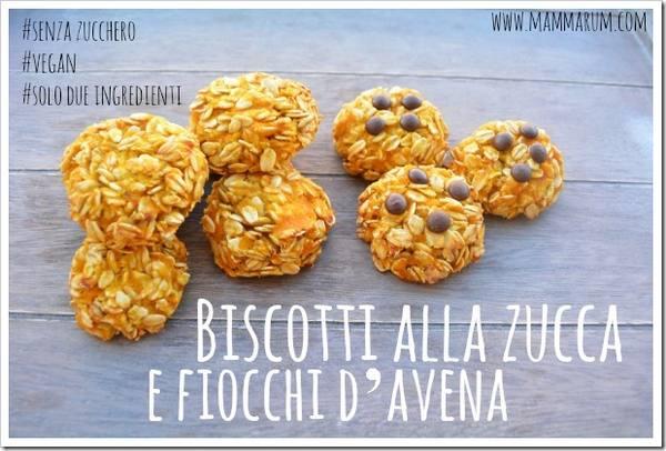 biscotti integrali zucca