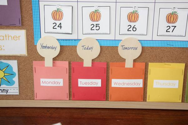 Costruire Calendario Scuola Infanzia.Calendari Fai Da Te Per Insegnare Ai Bambini Lo Scorrere Del