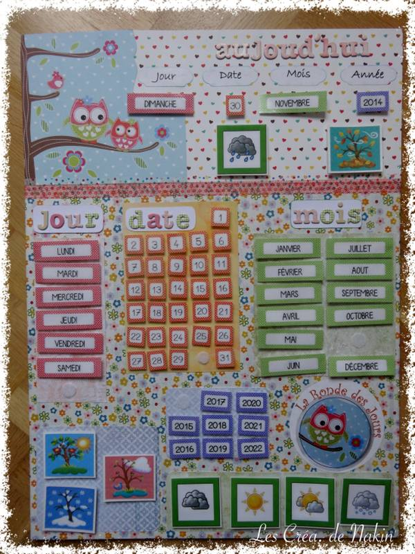 Calendario Classe Prima.Calendari Fai Da Te Per Insegnare Ai Bambini Lo Scorrere Del