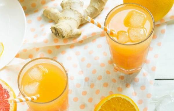 estratto arancia pompelmo zenzero