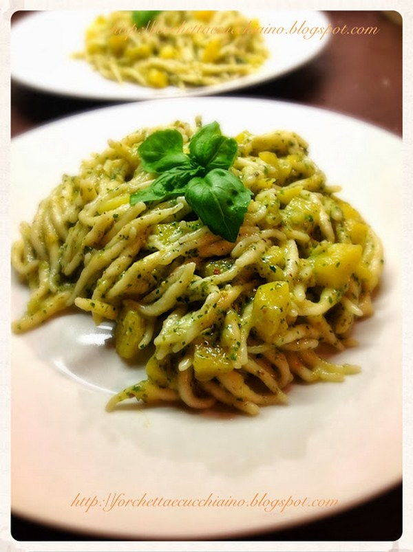 pesto pistacchi basilico