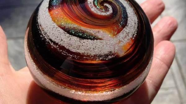 sfera porta ceneri