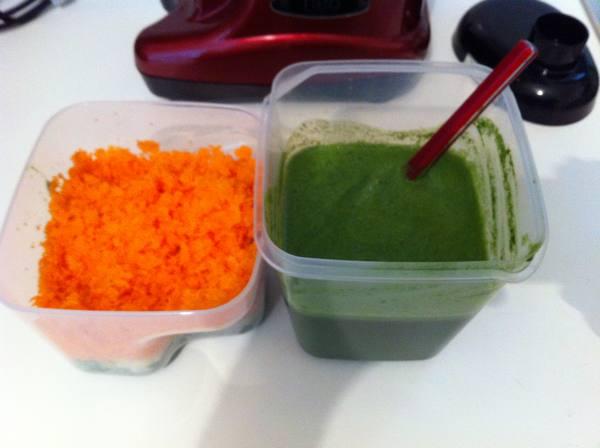 succo spinaci carote sedano