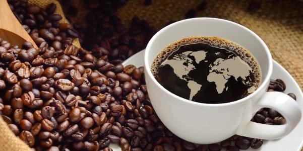 caffè tazzina mondo