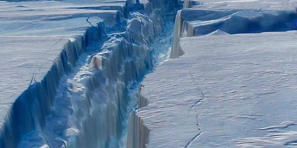 frattura ghiacci antartide