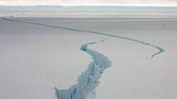 frattura ghiaccio